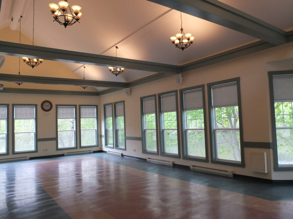 Interior of Trailhead Building - Event Space
